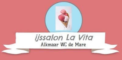 IJssalon La Vita de mare Logo